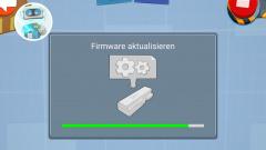 Lego Boost Firmware aktualisieren Screenshot